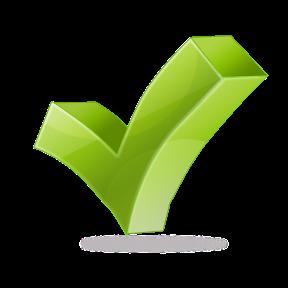 Image of green tickmark