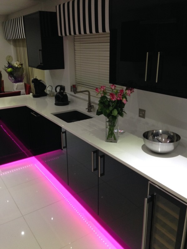 Image of renovated kitchen