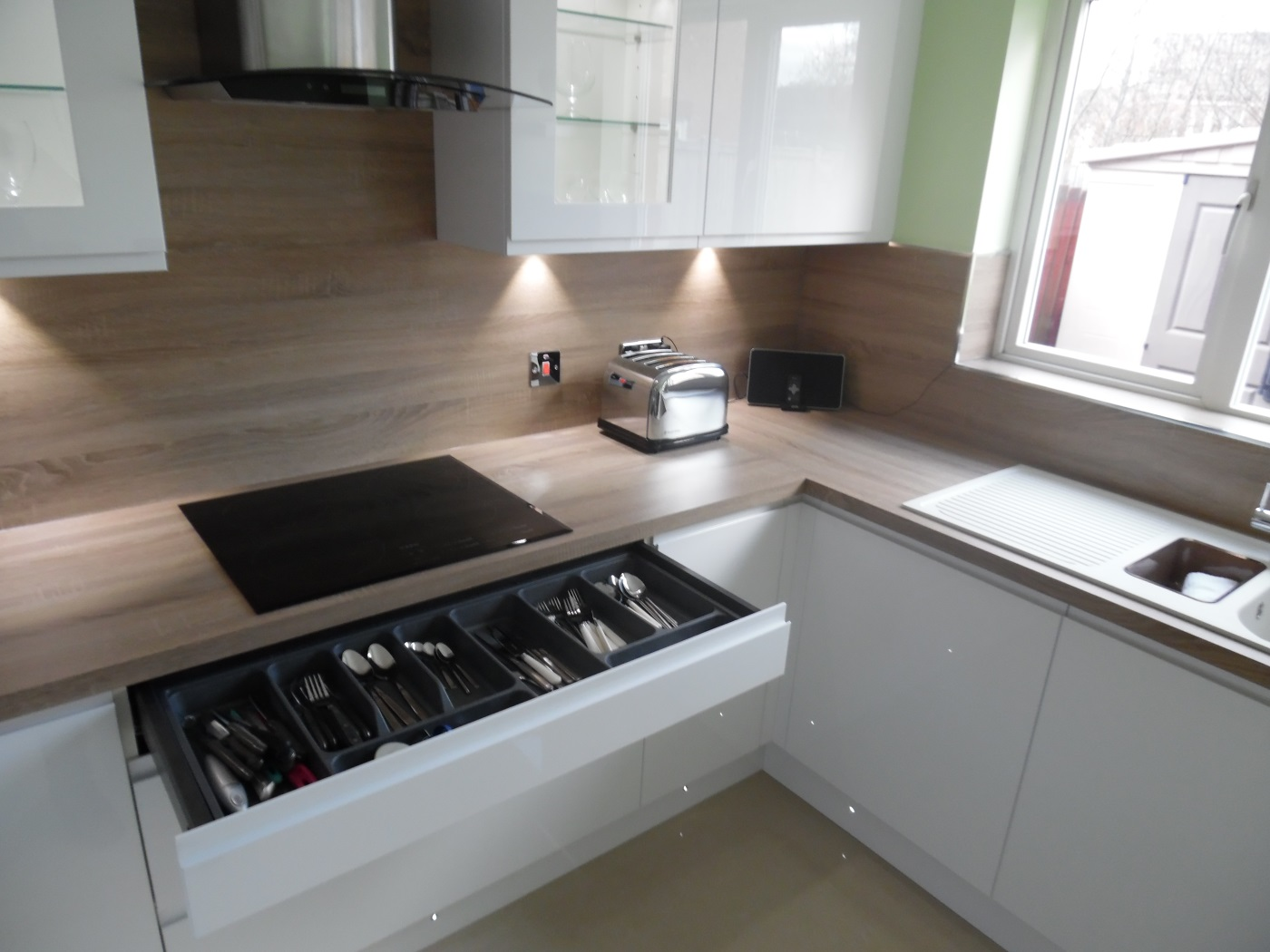 modern kitchen design cambuslang