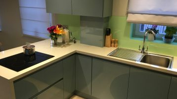 Newton Mearns, Kitchen Design, Metallic Oxygen