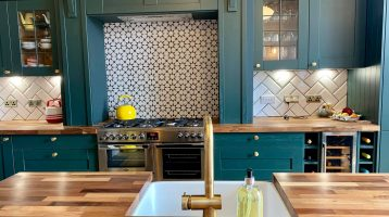 Green Style Shaker Kitchen